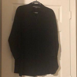 Vince Button Down Silk Shirt